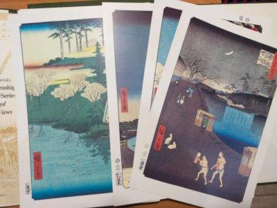 A Hundred Famous Views Of Edo. / Сто знаменитых видов Эдо.