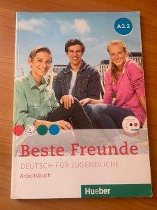 Рабочая тетрадь Beste Freunde A2.2 Arbeitsbuch