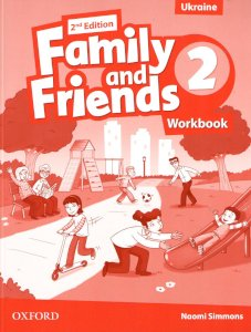 Тетрадь/зошит Family and Friends 2nd Edition 2 Workbook (Edition for Ukraine)