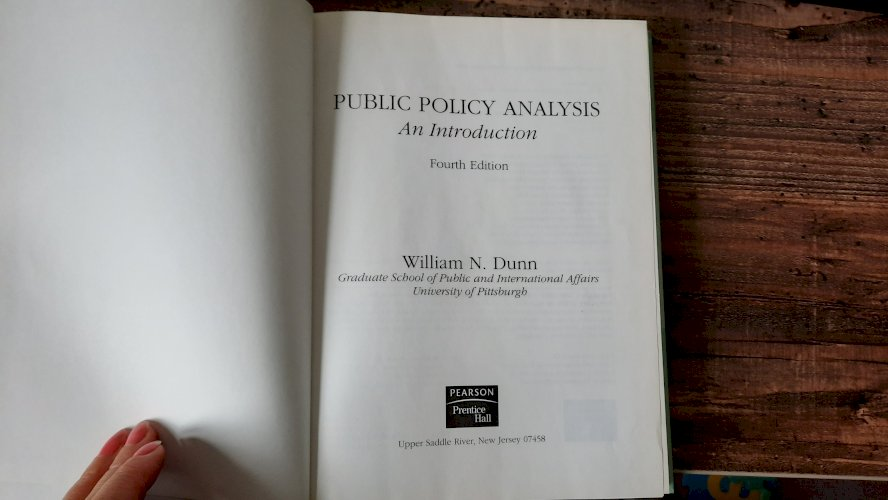 Public Policy Analysis (4th Edition)