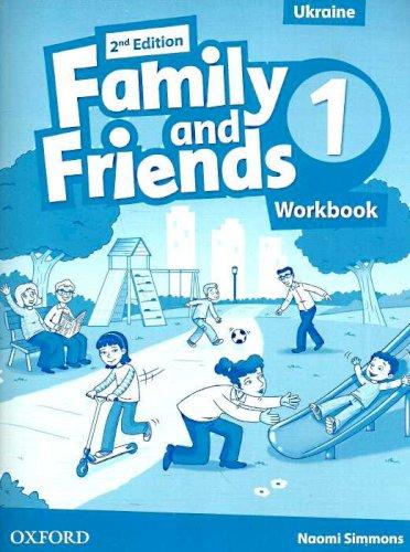 Тетрадь/зошит Family and Friends 2nd Edition 1 Workbook (Edition for Ukraine)