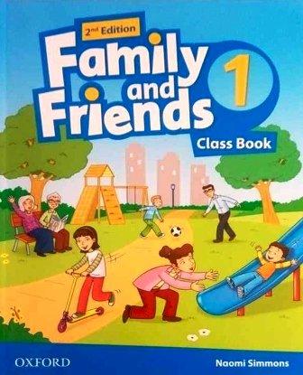 Учебник/Посібник Family and Friends 2nd Edition 1 Class Book