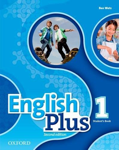 Учебник/Посібник English Plus Second Edition 1 Student's Book