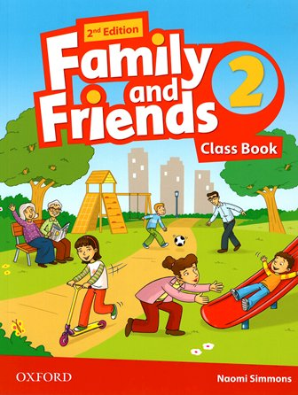 Учебник/Посібник Family and Friends 2nd Edition 2 Class Book