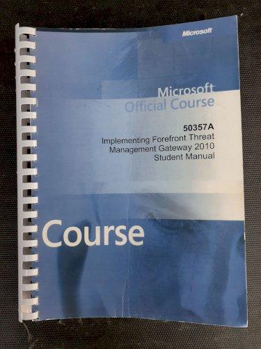Microsoft  TMG Student, Lab Manual